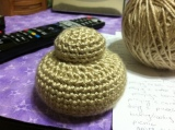 Bread Roll (Zwiebach) Crochet Pattern