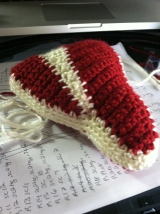 T-bone Steak Crochet Pattern