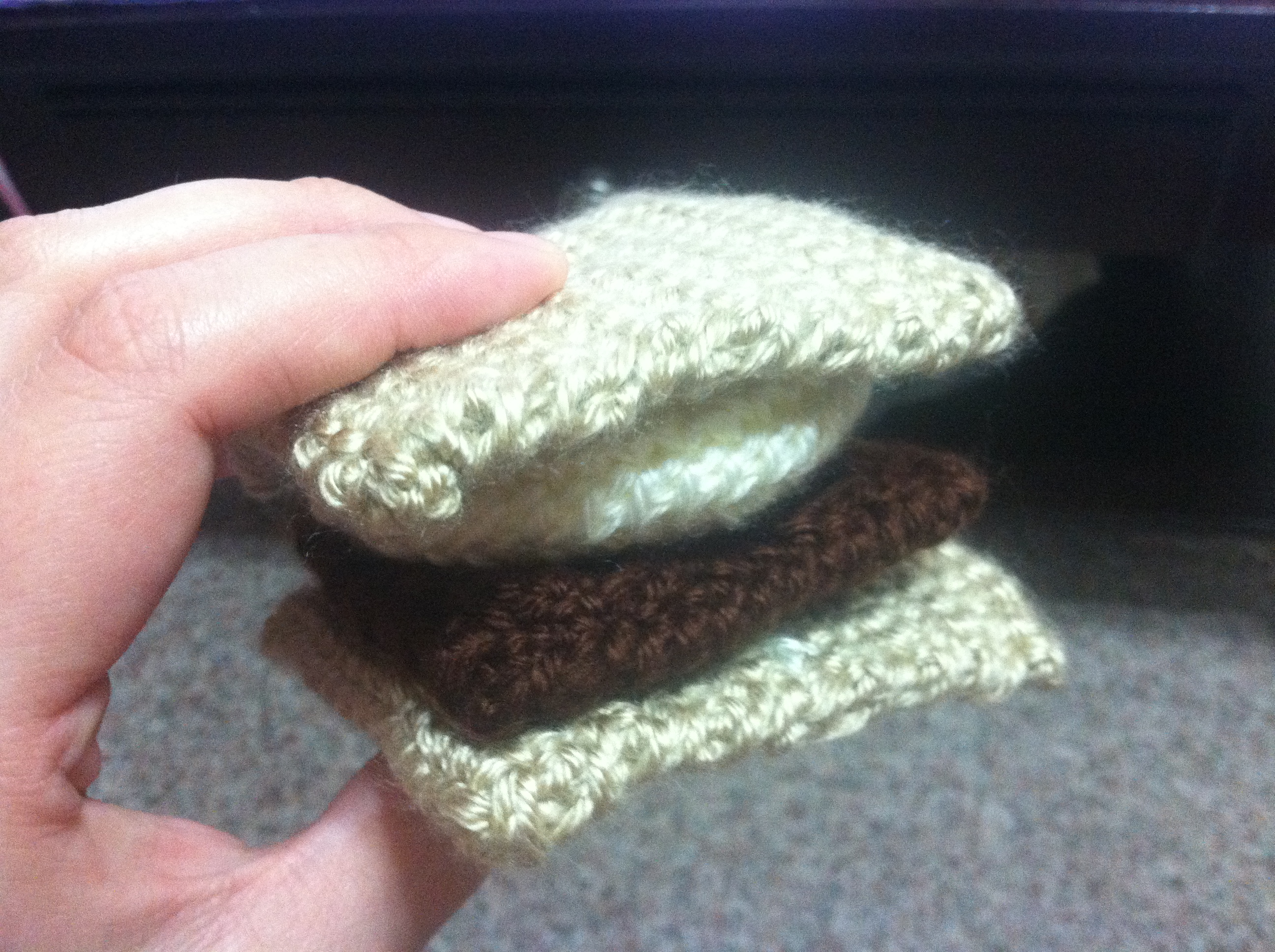 Chocolate Bar and S\'mores Crochet Pattern | non sequitur