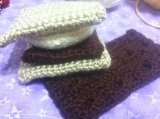 Chocolate Bar and S'mores Crochet Pattern