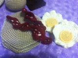Sunny Side Up Egg CrochetPattern