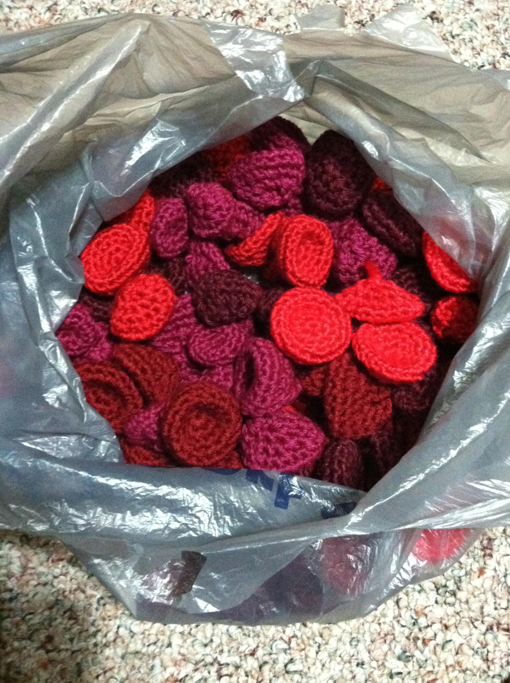 Blood Cellgrapecherry Tomatoraspberry Crochet Pattern Non Sequitur