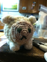 Crochet Pattern for Knit-It Sheep Kit
