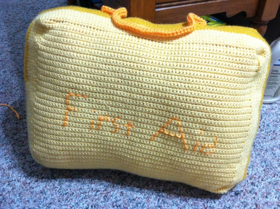 First Aid Kit Crochet